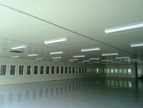 CEILING BY EPS SANDWICH PANEL